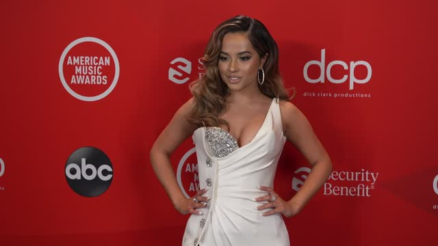 becky g at the 2020 american music awards at the microsoft theater on november 22, 2020 in los angeles, california. - microsoft theater los angeles stock videos & royalty-free footage
