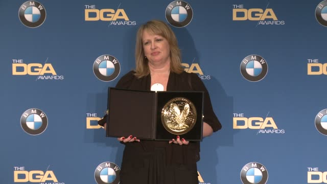 becky martin at 69th annual directors guild of america awards in los angeles ca - directors guild of america awards stock videos & royalty-free footage