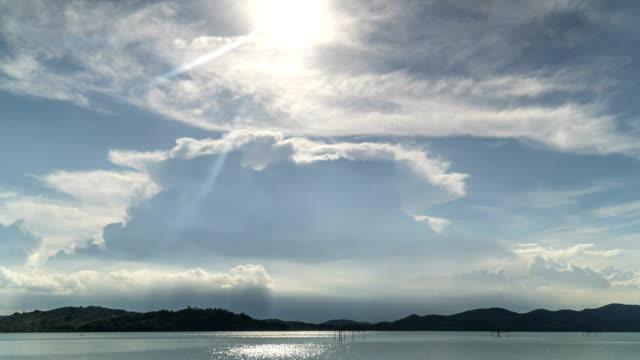 TL: 日没で嵐の雲になります。