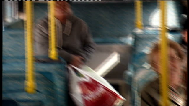 Bedfordshire Luton EXT Esther Rantzen canvassing passengers on bus for support Esther Rantzen interview SOT people angry at betrayal by all political...
