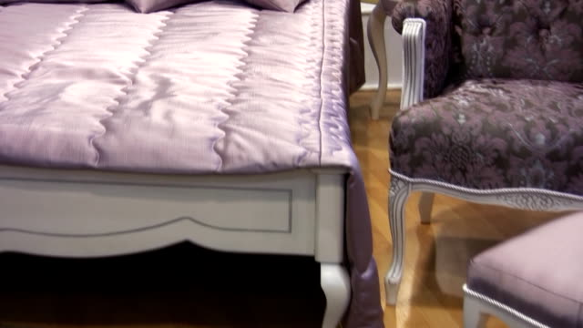 bedroom (hd) - double bed stock videos & royalty-free footage