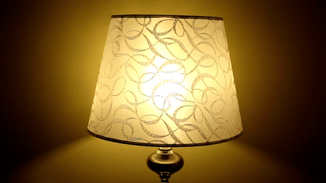bedside lamp - electric lamp stock videos & royalty-free footage