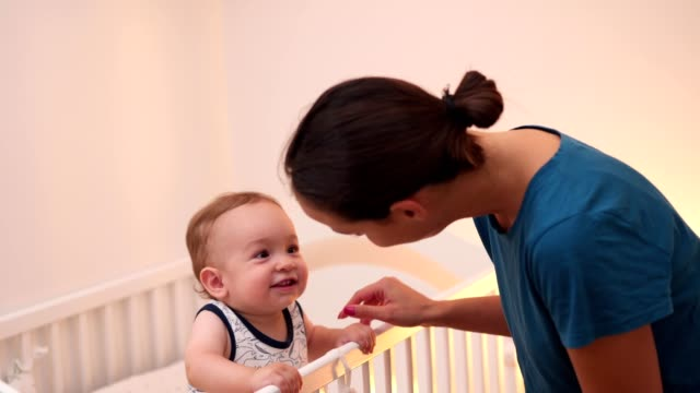 bedtime fun - nanny stock videos & royalty-free footage