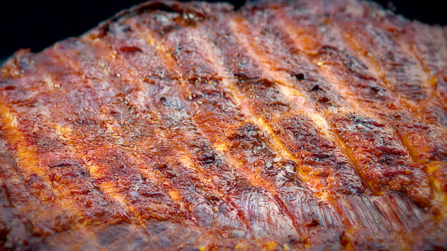 bbq beef brisket - smoked stock videos & royalty-free footage