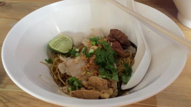 Beef stew noodle