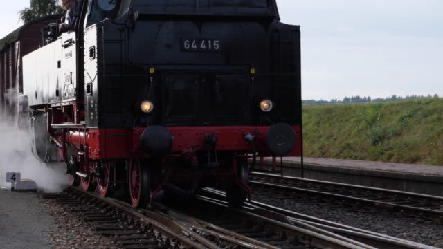 beekbergen netherlands september 2019 annual steam manifestation terug naar toen at the veluwsche steam train company in beekbergen and loenen on the... - condensation stock videos & royalty-free footage