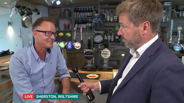 Beer and fizzy drink shortages possible after CO2 supply disrupted LIVE Wiltshire Sherston INT Pete Brock interview SOT