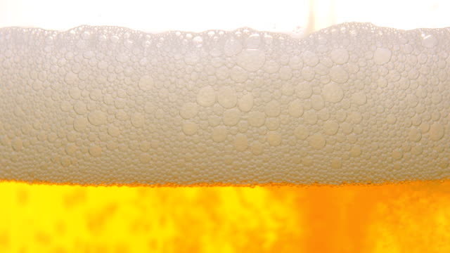 vídeos de stock, filmes e b-roll de cerveja close-up - enchendo