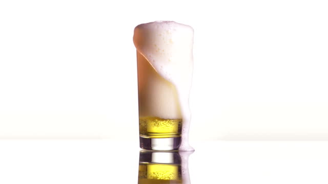beer pour - overflowing stock videos & royalty-free footage