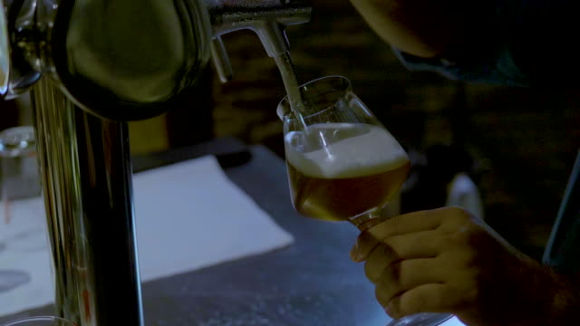 beer from the keg - keg stock videos and b-roll footage
