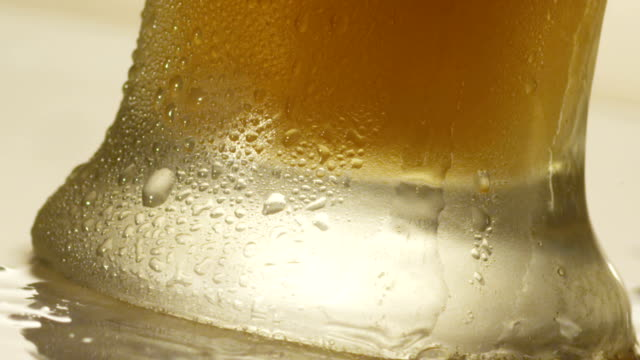 beer overflowing - empty beer glass stock videos and b-roll footage