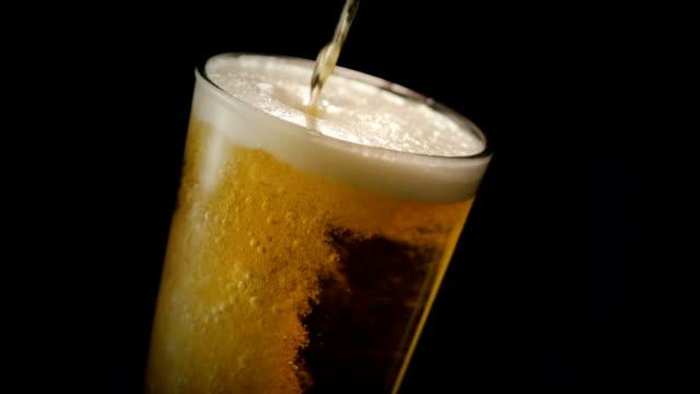 beer overflowing - overflowing stock videos & royalty-free footage