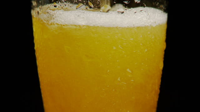 Beer Poured Into Glass PAL 25p Full HD