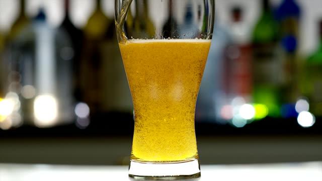 beer - beer glass stock videos & royalty-free footage
