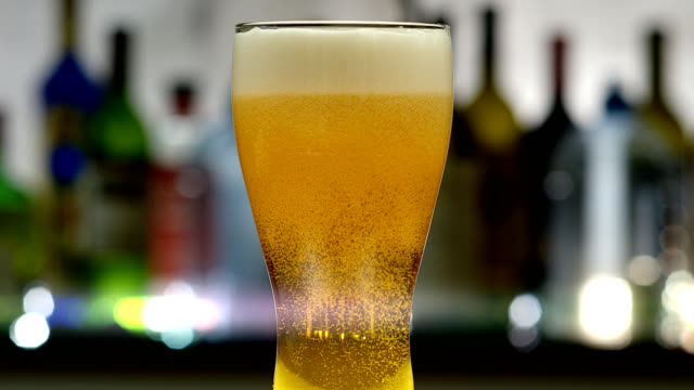 beer-4k - pilsner stock videos & royalty-free footage