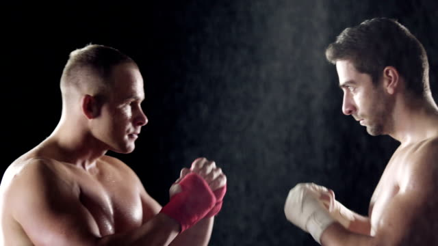 vídeos de stock, filmes e b-roll de antes de luta - posição de combate