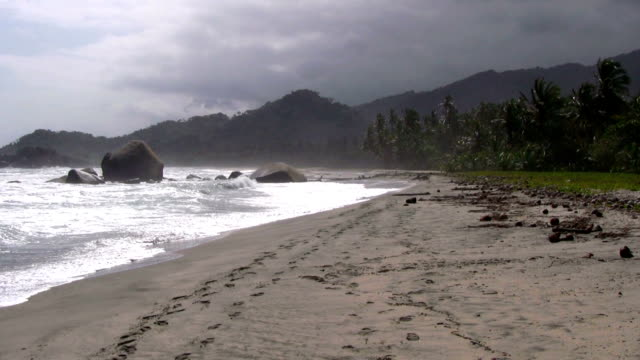 hd: before the storm - tayrona national park stock videos and b-roll footage
