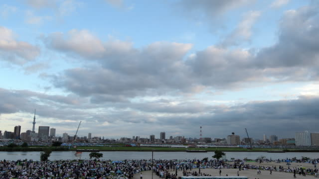 Before the Tokyo Adachi Fireworks