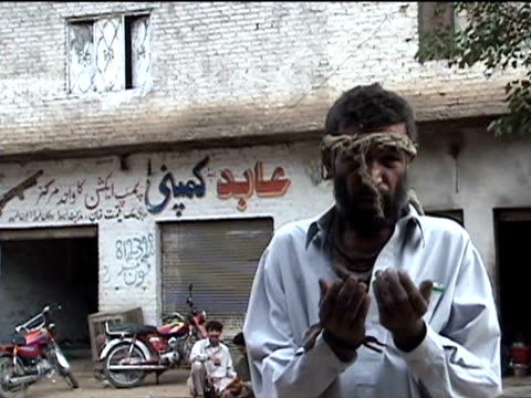 cu beggar darrah in swat agency of tribal zones federally administered tribal areas pakistan audio - only mature men stock videos & royalty-free footage
