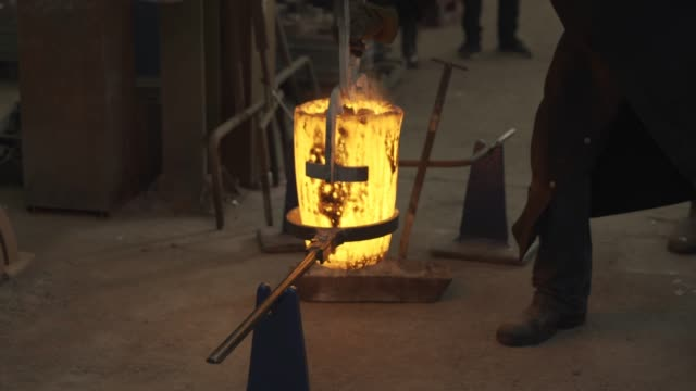 behind the scenes at the bafta foundry: the making of the masks on january 31, 2019 in london, england. - bafta mask stock videos & royalty-free footage