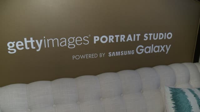 ATMOSPHERE Behind The Scenes At The Getty Images Portrait Studio Powered By Samsung Galaxy At The 2015 Summer TCA's Day 1 at The Beverly Hilton Hotel...