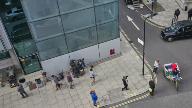 a behind the scenes time lapse of film crew in action on set - hackney stock videos & royalty-free footage
