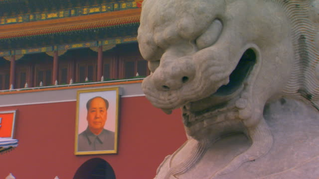 beijing, chinatiananmen square, tian'an men square, - male likeness stock videos & royalty-free footage