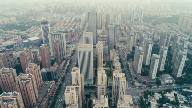 beijing cityscape - beijing stock videos & royalty-free footage
