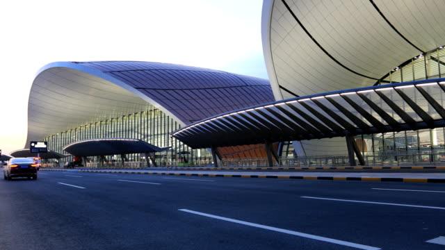 beijing daxing international airport - beijing stock videos & royalty-free footage