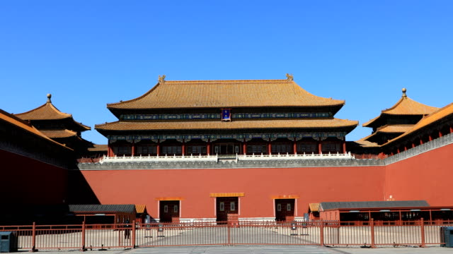 beijing forbidden city - forbidden city stock videos & royalty-free footage