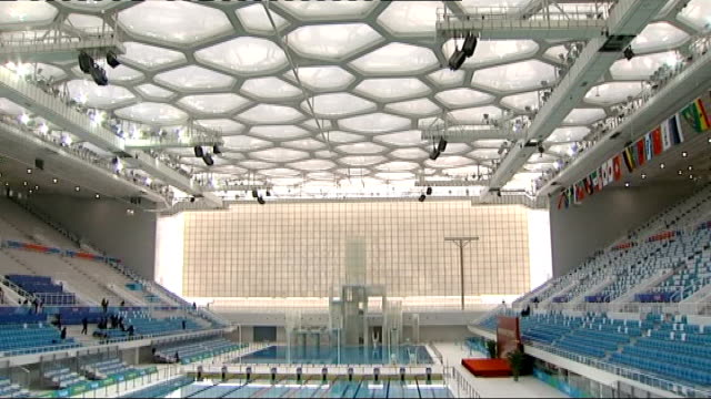 Beijing INT General view aquatics centre