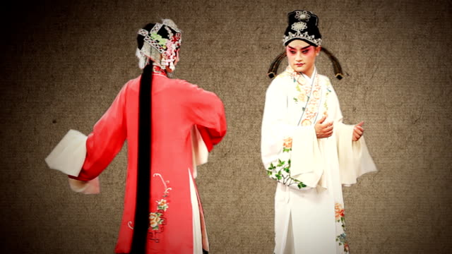 beijing opera - imperial lion stock videos and b-roll footage