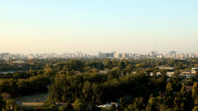 beijing panorama - forbidden city stock videos & royalty-free footage