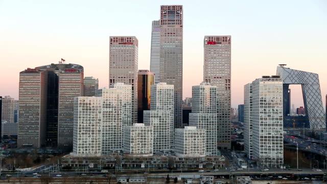 beijing skyline - beijing stock videos & royalty-free footage
