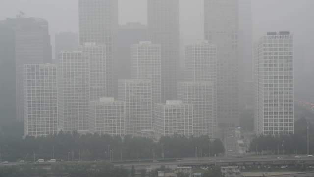 Beijing Smog, City in Air Pollution