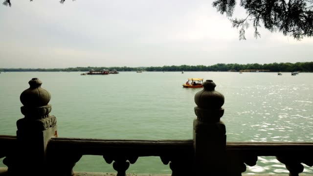 beijing summer palace kunming - summer palace beijing stock videos & royalty-free footage