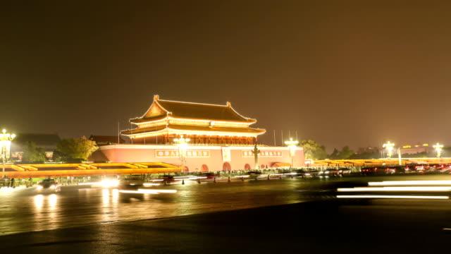 Beijing Tiananmen Square Night