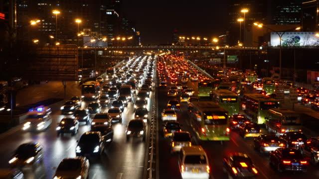 beijing traffic time lapse