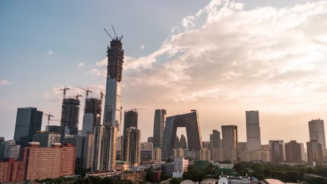 T/L Beijing Urban Skyline