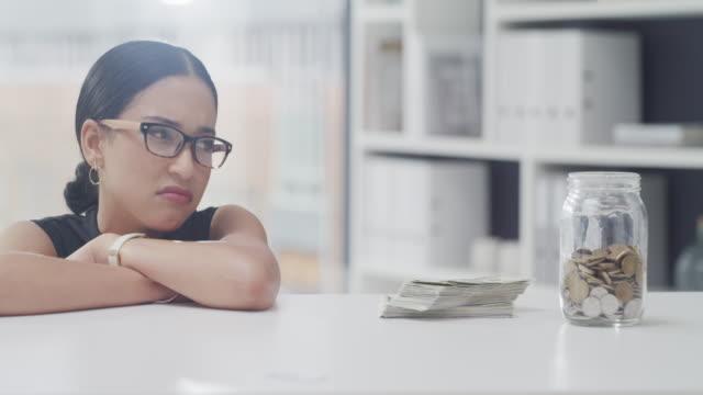 being broke is no joke - savings stock videos & royalty-free footage