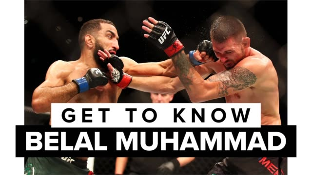 belal muhammad is an american mixed martial artist who competes in the welterweight division of the ultimate fighting championship . get to know one... - octagon stock videos & royalty-free footage