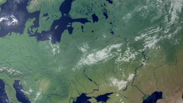 Belarus  pops up after earth zoom (with alpha matte)