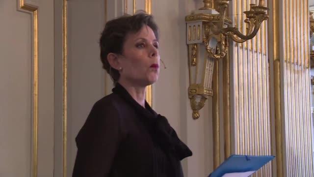 belarussian writer svetlana alexievich wins the 2015 nobel literature prize - literature stock videos & royalty-free footage