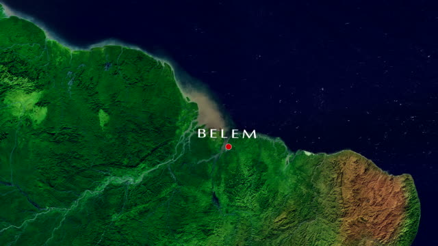 belem 4k zoom in - belém brazil stock videos and b-roll footage