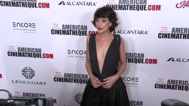vídeos y material grabado en eventos de stock de belen cuesta at 30th annual american cinematheque awards gala in los angeles ca - premio american cinematheque