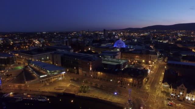Belfast City Aerial River Lagan