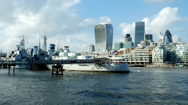 HMS Belfast Museum Schiff und City of London