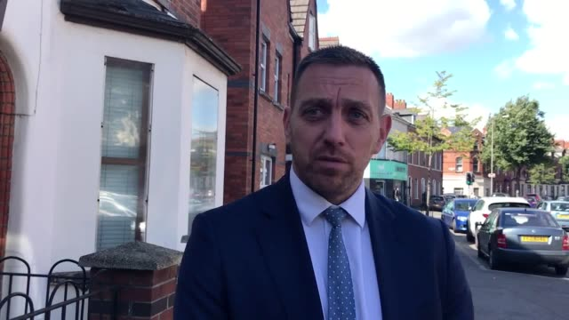 belfast solicitor padraig o muirigh questions the timing of an mod database disclosure shortly before the ballymurphy massacre inquest is due to start - ulster province stock videos & royalty-free footage