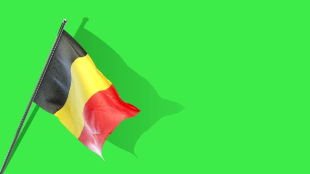 belgian flag Rising