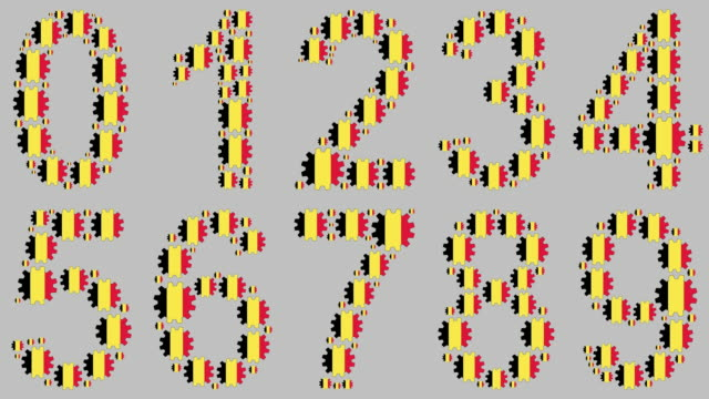 belgiska nummer anges - nummer 4 bildbanksvideor och videomaterial från bakom kulisserna